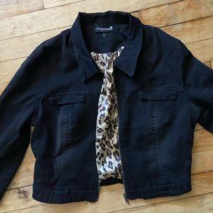 SourPuss Cropped Jean Jacket